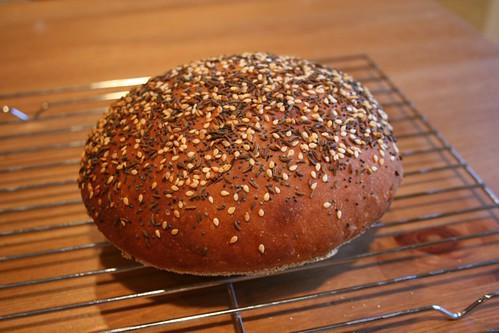 Unslashed loaf