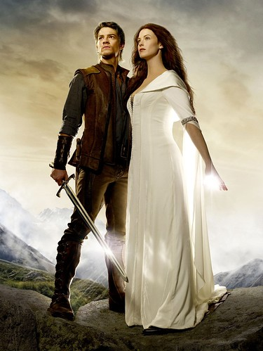 Richard and Cara from Legend of the Seeker