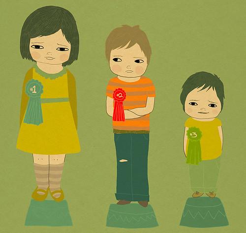 spot illustration for Canadian Family