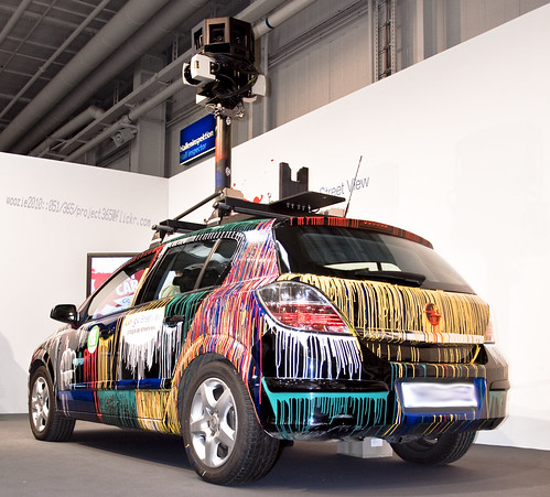 Google Street View Camera Car [051-2010_project365]