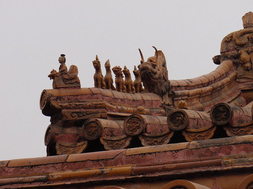 Beautiful, intricate work on the roofs