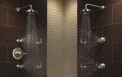 Euro Sensori High Flow Custom Shower Collection (brizofaucet) Tags: stilllife shower photo riviera euro trevi loki faucet highflow quiessence brizo customshower sensori sensorihighflow trevilever trevicross