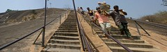 Sravanabelgola 3 (India.Stretched) Tags: india karnataka monolith jain pilgrimage bahubali sravanabelgola vidhyagiri