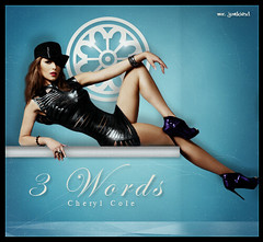 Cheryl Cole  [  3 Words - Mr. JunkieXL  ] (Mr.JunkieXL) Tags: blue light 3 love words mr cole single bitch cheryl junkie xl