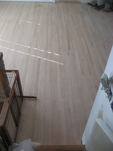 Behold! Noncrooked wood floors!