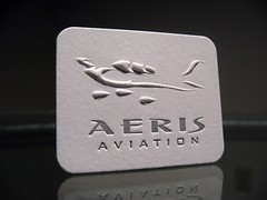 Aeris Aviation Embossed (Front)