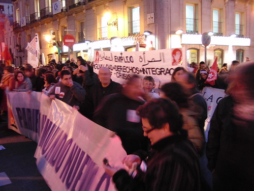 manifestación día de la mujer 2010