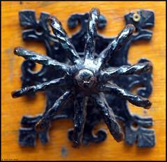 Iron Flower (Rick & Bart) Tags: door detail metal iron brussel metaal deur ijzer smrgsbord botg rickbart thebestofday gnneniyisi sierwerk rickvink ornamentalwork
