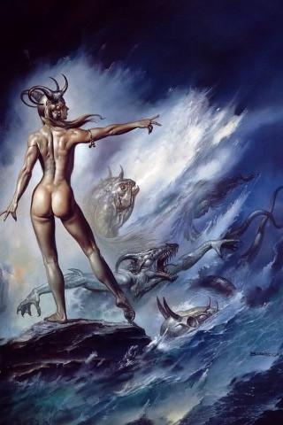 boris vallejo wallpaper. Boris Vallejo#39;s Lilith as