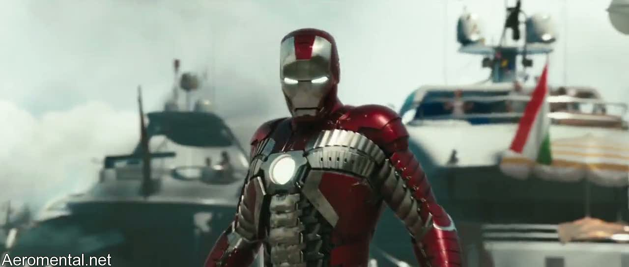 armadura Iron Man 2 Mark V