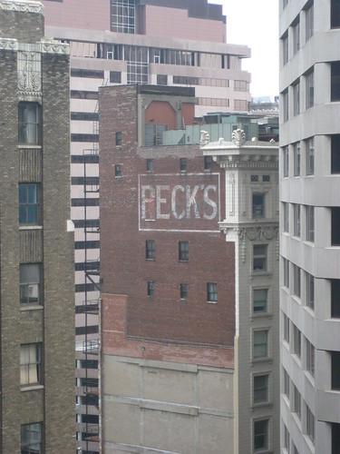 Peck's