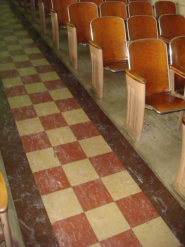 Checkered Asbestos Floor Tile A Photo On Flickriver