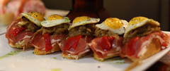 Pinxtos (Ali Elan) Tags: food egg foodporn tapas multiples sansebastian oeufs pinchos accumulations pinxtos alisonelangasinghe