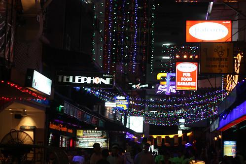 Gay Man street in Patpong