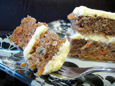 ... Treats: Carrot Cake with Fresh Orange Cream Cheese Frosting (SMS