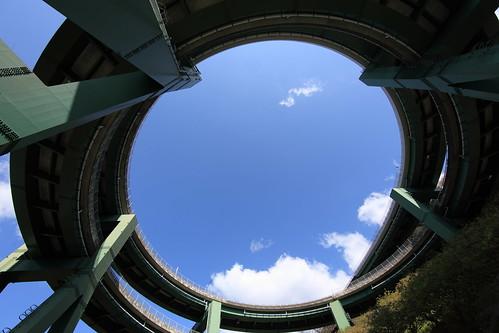 Kawazu loop bridge / 河津七滝ループ橋(かわづななだるループきょう)
