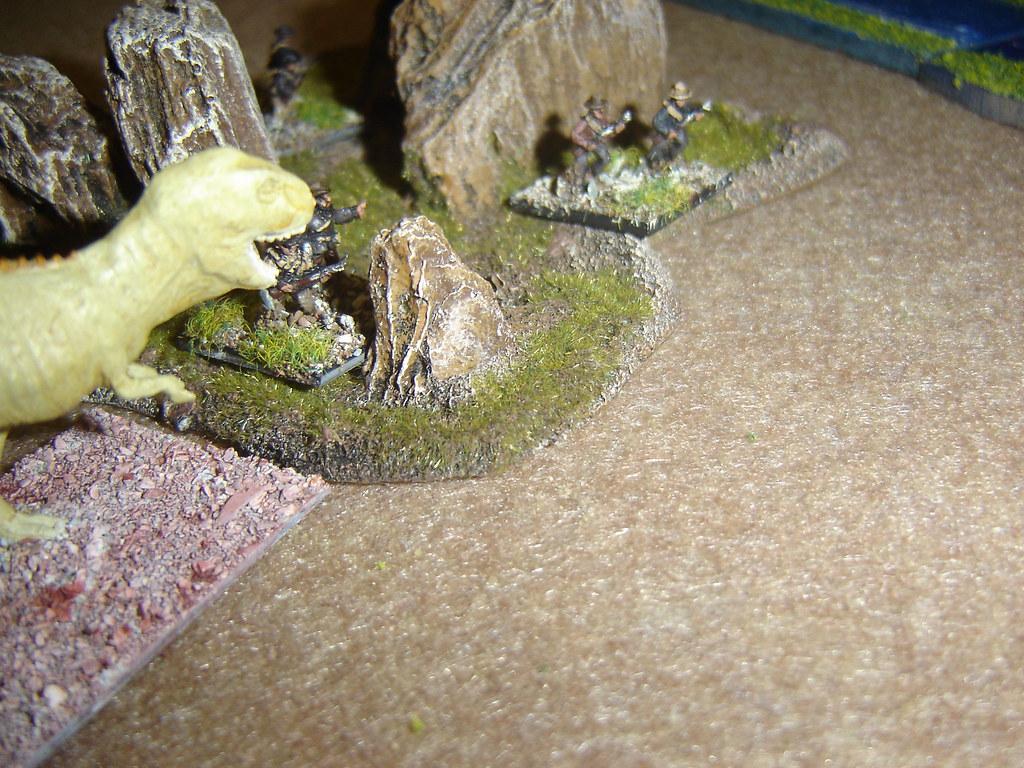 Tyrannosaur moves in
