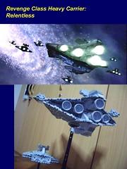 Revenge Class Heavy Carrier - Relentless (TK-3906 501st Legion) Tags: star lego class destroyer revenge heavy carrier relentless