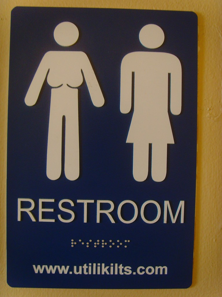Kilt Bathroom Sign the world's best photos of restroom and stickfigure - flickr hive mind