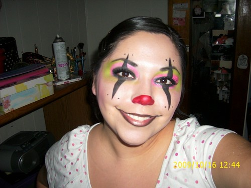 clowning makeup. dresses Evil Clown Makeup by