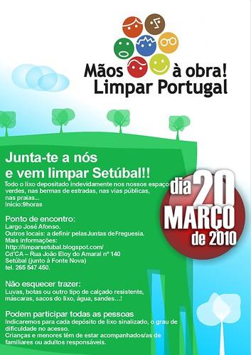 Vamos limpar Portugal