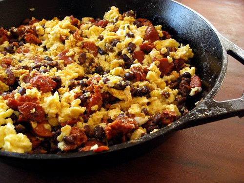 ... egg recipes dishmaps chorizo and egg breakfast burrito bacon and egg