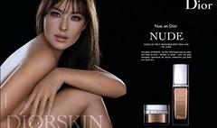 Publicité Dior Diorskin (Monica Bellucci)