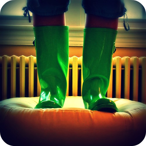 Green Rainboots