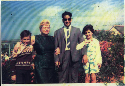 the Din family, Butlin's, 1968.