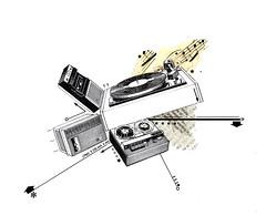 (BTONE6SEVEN) Tags: urban music art collage illustration scrapbook paper typography design graphicdesign newspaper graphic handmade cut paste experiment retro type printed cutpaste letraset recordplayers founditems photocopied