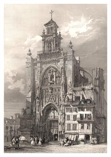 017-Iglesia de San Jago en Jerez-Voyage pittoresque en Espagne et en Portugal 1852- Emile Bégin