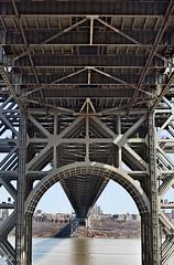 George Washington Bridge Underpass (Spodeworld) Tags: newyork georgewashingtonbridge nikond5000