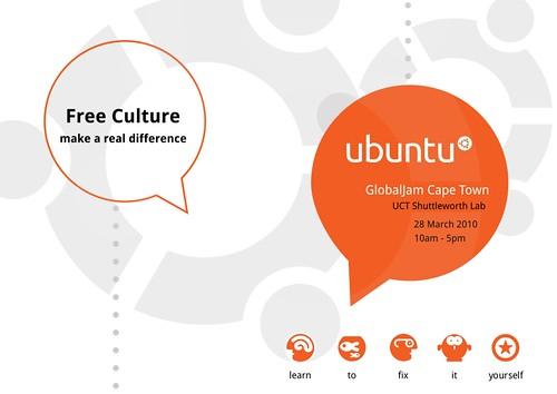 Ubuntu-za Global Jam Poster