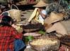 Sunday market, Mrauk-U, Myanmar (ArnisD) Tags: food market burma stall myanmar mrauku arakan rakhiang
