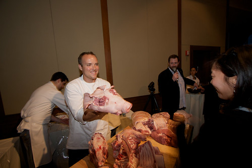 Ryan Farr at Cochon 555 NYC