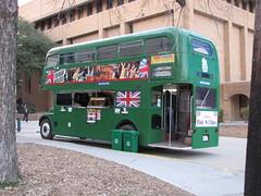 SX10-IMG_0436 (old.curmudgeon) Tags: bus texas routemaster doubledeckerbus unt doubledecker londonbus greenbus 5050cy englishfishandchips