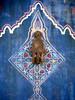 Hand of Fatima (fede_gen88) Tags: africa door blue houses decorations white hand capital morocco maroc medina fortress rabat dwellings kasbah hamsa handoffatima kasbahdesoudaïas الرباط oudaïas oudaïa almohads kasbahoftheudayas خمسة islamiccity