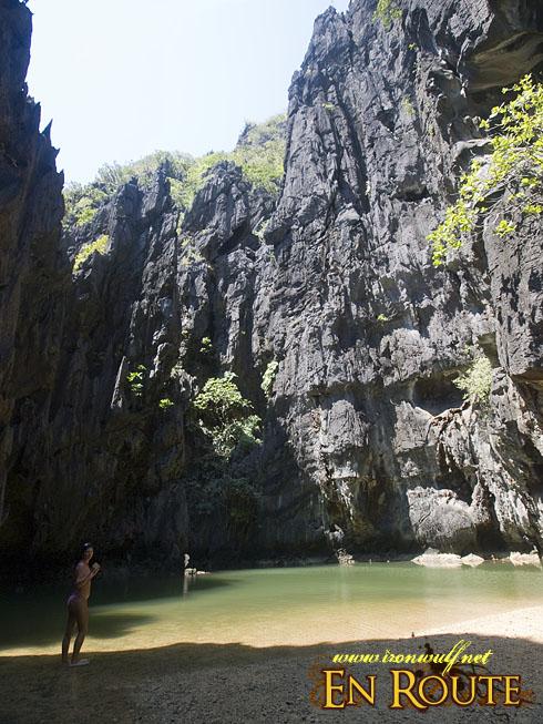 EL Nido Miniloc Secret Lagoon
