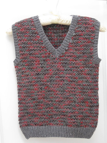 tweedy vest
