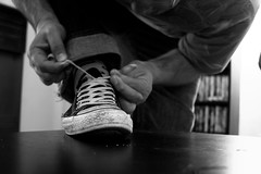 1095 : [Self Portrait 365] - Day 092 - April 2nd, 2010 (Kealoha1981) Tags: california ca blackandwhite bw selfportrait cute sexy male cali contrast canon dark table geotagged photography grey shoes photographer narcissism gorgeous vanity handsome canoneos20d socal longbeach sp converse photoaday villa cons betsy 365 conceptual geotag chucks glc pictureaday lbc 1095 shooo fuckinghot canonef28135mmf3556isusm kealoha project365 365days thetreehouse selfportrait365 threehundredandsixtyfivedays photo365 threesixtyfive venatheous kealohavilla gloomylittlecloud threesixtyfivedays tenninetyfive gloomylittlecloud kealohavilla