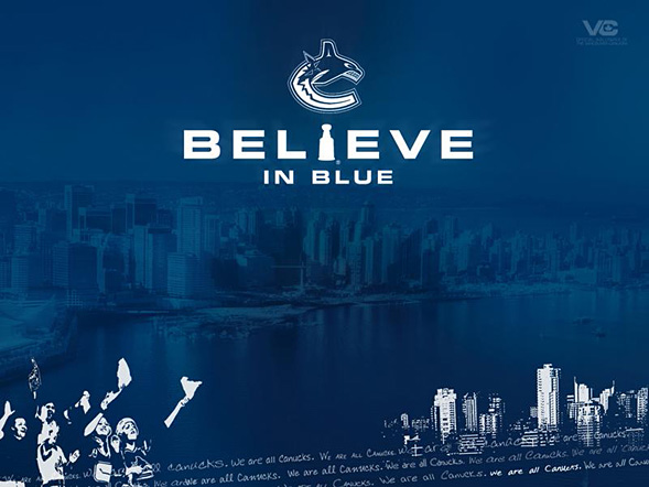 Believe in Blue