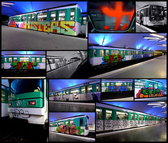 Paris Subway - Ligne 3 (Thias (-)) Tags: streetart paris wall train painting subway graffiti mural panel metro tag roulant spray urbanart flip painter graff aerosol bombing miks nbk spraycanart 156 sine smer wholecar pgc thias tobs misterz ligne3 photograff frenchgraff soack tlms photograffcollectif frior ambiancegraffiti