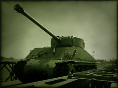 Tank 2 (Richard Wintle) Tags: ontario canada frames tank kingston plugin plugins rmc virtualphotographer royalmilitarycollege optikverve baileybridge grungeframe filterforge cmwdgreen