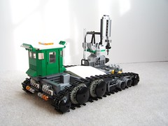 Utility Tractor (ChrisDavidParkinson) Tags: lego space vehicle tracked moc foitsop