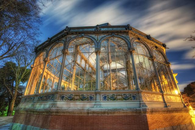Crystal Palace – Palacio de Cristal, Parque del Retiro, Madrid, HDR 2