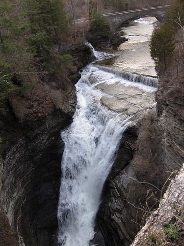 Above Taughannock Falls