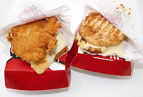 KFC's Double Down Sandwich