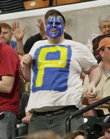 Pacers fan