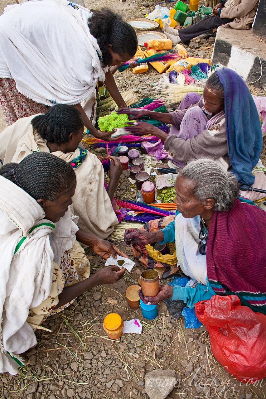 Dye Market, Axum, Tigray, Ethiopia, November 2009