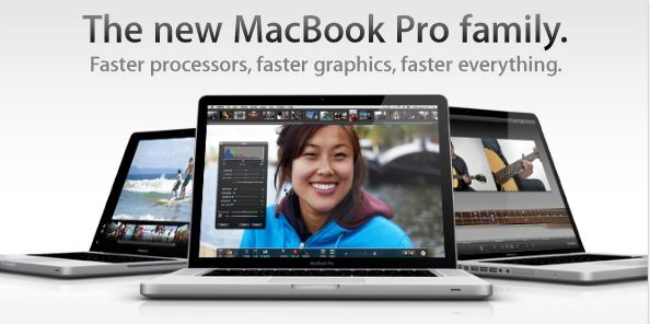 Apple actualiza las MacBook Pros con procesadores Intel Core i5 e i7
